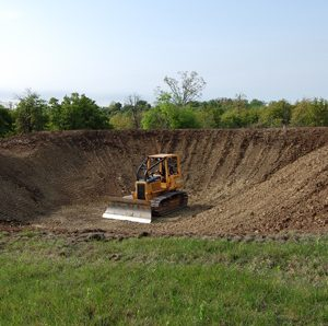 pond construction acadiana regional trucking