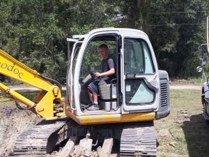 Excavator lafayette dirt 342-5600