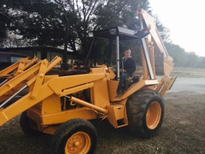 ART Tractor ready to load 337-342-5600